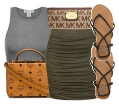 """""""eh...."""" by kodakdej ❤ liked on Polyvore featuring Michael Kors, MCM, Ally Fashion and Billabong"""