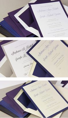 FREE Wedding Invitation Templates make a great pair with Signature