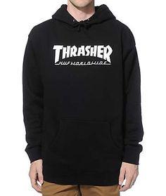47bdab30b486 HUF x Thrasher Classic H Hoodie Thrasher Outfit