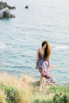 Wisteria Inspired Cliffside Shoot via Magnolia Rouge