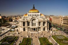 The Palacio De Bellas Artes is just one of Mexico City's incredible buildings, but it was without a doubt my personal favourite.