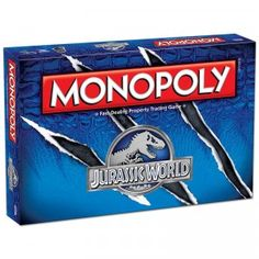The Monopoly: Jurassic World Collector's Edition game is a themed version of the classic board game for Jurassic World fans.