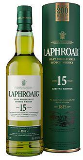 Laphroaig Single Malt Whisky - 15 Year Old