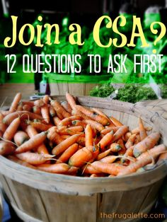 Having a CSA reduces trips to the grocery store while promoting healthful cooking at home ••• 12 Questions to Ask Before Joining a CSA