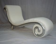 Extraordinary Cleopatra Snail Chaise Lounge. This is just one of many chaise options for the living room.