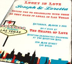 32 best vegas wedding save the date images on pinterest save the