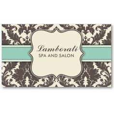 Elegant pastel pink and black vintage damask business card pastel damask floral elegant modern brown beige and green business cards from zazzle reheart Gallery