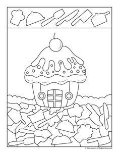Birthday Cupcake I Spy cupcakes decoration hochzeit ideas ideen recipes rezepte cupcakes cupcakes cupcakes Kindergarten Worksheets, Worksheets For Kids, Toddler Preschool, Preschool Activities, Hidden Picture Puzzles, I Spy Games, Petite Section, Cute Turtles, Hidden Pictures