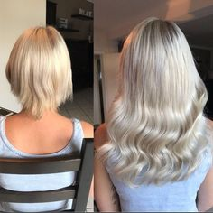 Warning: These Amazing Before and After Photos Will Make You Want Hair Extensions - Top-Trends Hair Extensions Before And After, Hair Extensions For Short Hair, Extensions Hair Styles, Bad Hair Day, Big Hair, Before After Hair, Fall Hair Cuts, Nagel Blog, Dull Hair