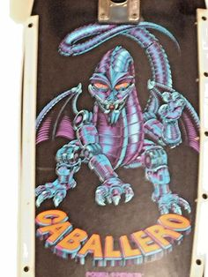 Powell Peralta Skateboard Complete Caballero Mechanical Dragon Blue/purple…