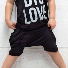 KIDS Black Shorts