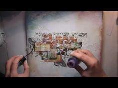 'Love' scrapbooking tutorial by Marta