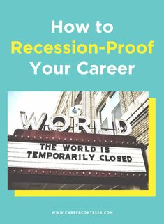 While a job is never guaranteed, there are steps you can take to recession-proof your job and arm your arsenal of expertise with recession-proof job skills.