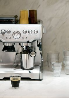For Dan, would be nice to have a good cappuccino maker, not necessarily this brand Coffee, Tea & Espresso Appliances - http://amzn.to/2iiPu7K