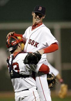 Clay Buchholz throws no-hitter for Red Sox - The Boston Globe Red Sox Baseball, Baseball Socks, Baseball Players, T Shirt Designs, Boston Sports, Boston Red Sox, Jason Varitek, Basketball Tickets, Basketball Birthday