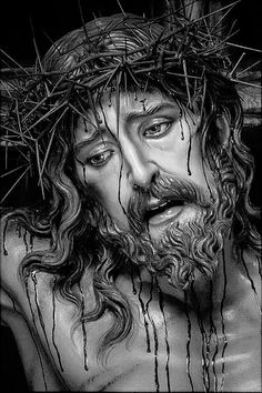 Te amo Jesús Jesus Christ Drawing, Jesus Drawings, Christ Tattoo, Jesus Tattoo, Pictures Of Jesus Christ, Jesus Painting, Jesus Face, Christian Art, Christian Tattoos