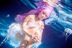 "darkersolstice: ""cosplayeverywhere: ""Princess Jellyfish (海月姫) ~ Kuranosuke Koibuchi (鯉淵蔵之介) "" sting-like-jelly """