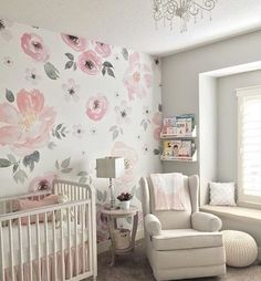 More of baby girls nursery. It has become my favorite room in the house. I have loved spending time in here, organizing her clothes and dreaming of what she is going to be like and how our lives are about to change! #39weekspregnant #babyleiendecker #nurserydecor #projectnursery #nursery #potterybarnbaby #girlnursery #anewalldecor #mypotterybarn #potterybarnkids