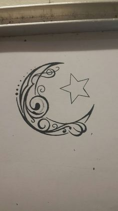Download Free ... Crescent Moon Tattoos on Pinterest | Moon Tattoos Tattoos and Moon to use and take to your artist.
