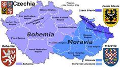 Mapa Czechia