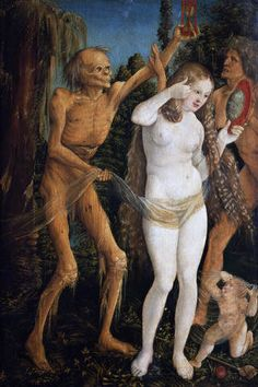 The Woman and Death by Hans Baldung Grien
