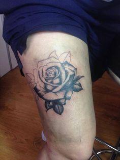 the rose in progress