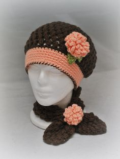 Hat and Cowl Set by Adorably Hooked