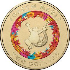 "2006 AUSTRALIAN $2 PROOF COIN X MINT SET /""AUSTRALIAN TWO DOLLAR $2.00 2x2 HOLDER"