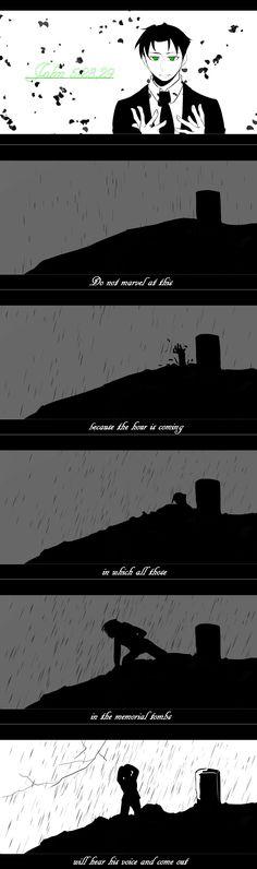 #DC #JasonTodd 【約翰福音 5:28, 29】 不要為這件事感到驚訝,因為時間已到,到時所有紀念墓裏的人,都將聽見他的聲音而出現。