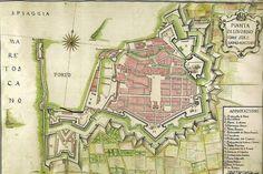 Toscana Pianta di Livorno (1776)