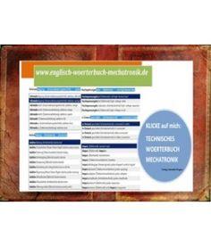 Praesentation Technisches Woerterbuch Mechatronik: Klicke Auf Mich