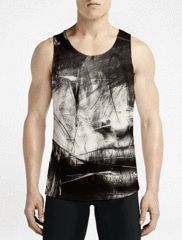 Lips / Guys Tank Tops Must Have Gym Custom Tank Top Get Best Mens Muscle Tank Tops OSOM WEAR Abstract Anime Art Comics Fantasy Gaming Horror Minimalistic Movies Music TV Shows Sports