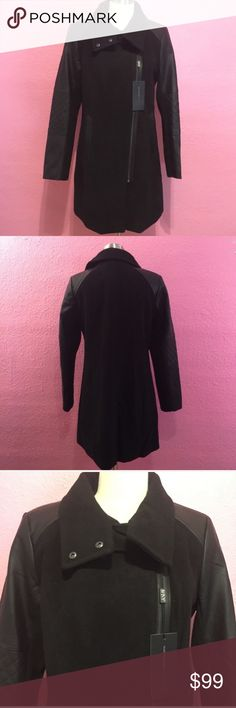 New with tags Black winter dress coat. Size 14 New with tags Black winter dress coat. Marc New York Jackets & Coats