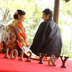 イニシャルオブジェ Japanese Style, Kimono, Sari, Photoshoot, Wedding Ideas, Fashion, Saree, Moda, Photo Shoot