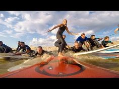 Surfing a tidal wave - SurfGirl Magazine - Womens and Girls Surfing, Surf Fashion, Surf News, Surf Videos