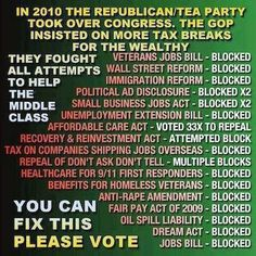 What's truly sad is that a couple of these were originally proposed by Republicans!