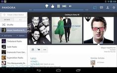 Pandora for Android adds Chromecast streaming and a tablet-ready UI