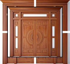 This kind of photo is seriously a formidable style technique. House Main Door Design, Wooden Front Door Design, Home Door Design, Double Door Design, Pooja Room Door Design, Door Gate Design, Door Design Interior, Wooden Front Doors, The Doors