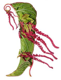 Art + Botany: Shoe Fleur - Concept Photography © Michel Tcherevkoff