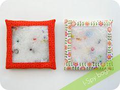 homemade by jill: I-Spy Bags