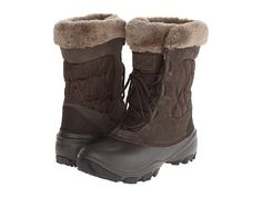 Snow Boots - Look for a taller boot that is at least somewhat resistant to water.