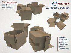 *M n B* Cardboard Box Set (meshbox)