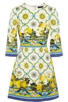 D&G jacquard mini dress