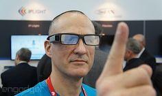 Lumus and eyeSight deal brings gesture control to DK-40 smart glasses hand-on (video)