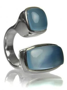 Two-tone ring from Sikara & Co. One of my favorite shapes from my Moxsie.com days, in a different shade.
