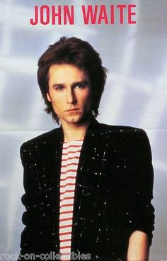 John Waite...this guy actually opened for lover boy in august 1982 right after he went solo...good singer..