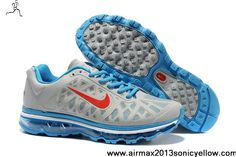 buy online 64b2f fbcc1 Buy New 429889-069 Nike Air Max 2011 Womens Grey Blue Red Shoes Casual shoes