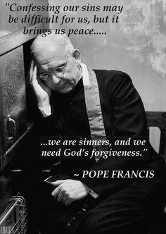 Pope Francis on Confession
