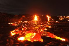 Gooey, goopy, oozey -- even the words that describe lava are pretty spectacular.