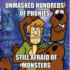 funny cartoon logic scooby doo